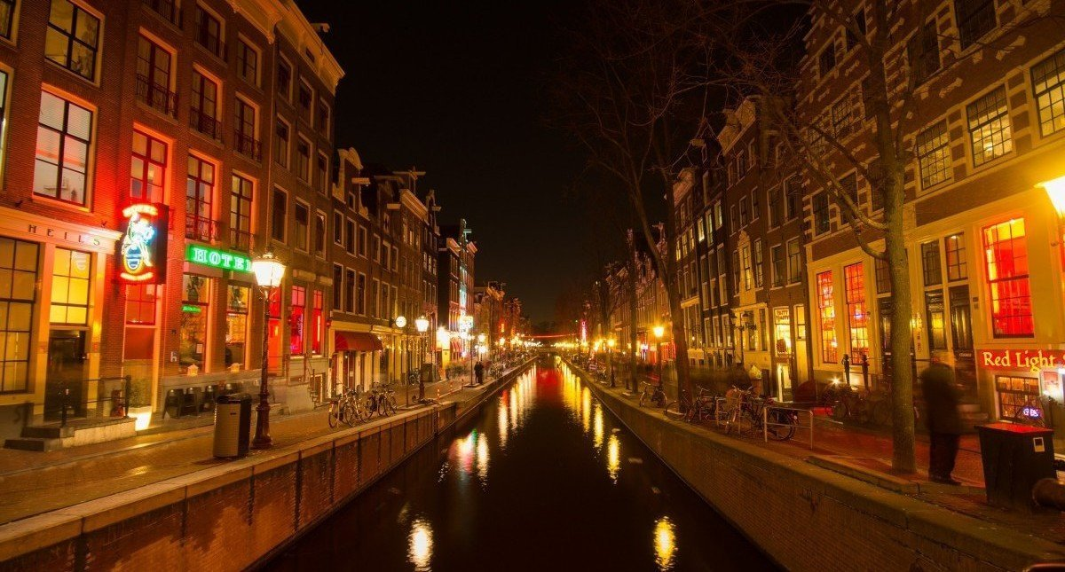The Red Light District and surroundings