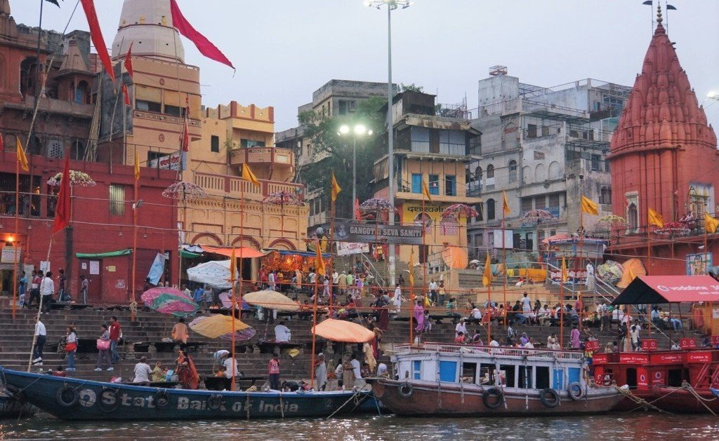 Varanasi river Ganges India