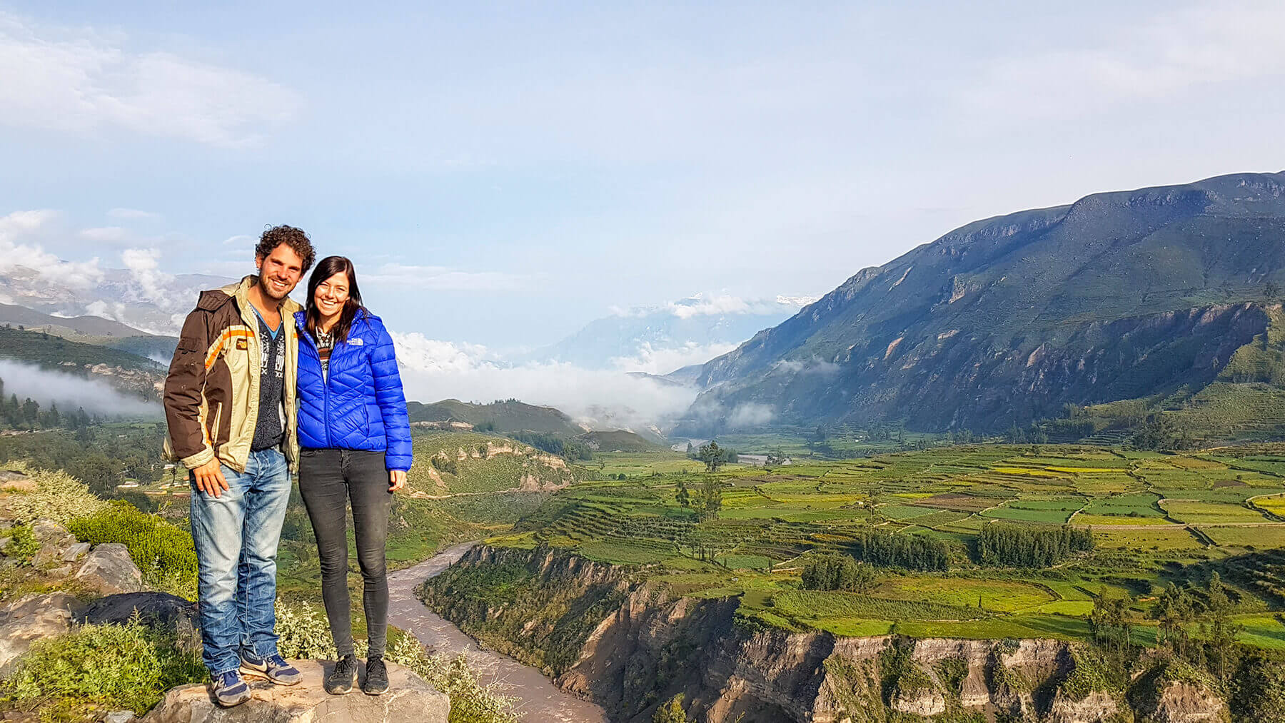 On the road to the Colca Canyon you will come across amazing views