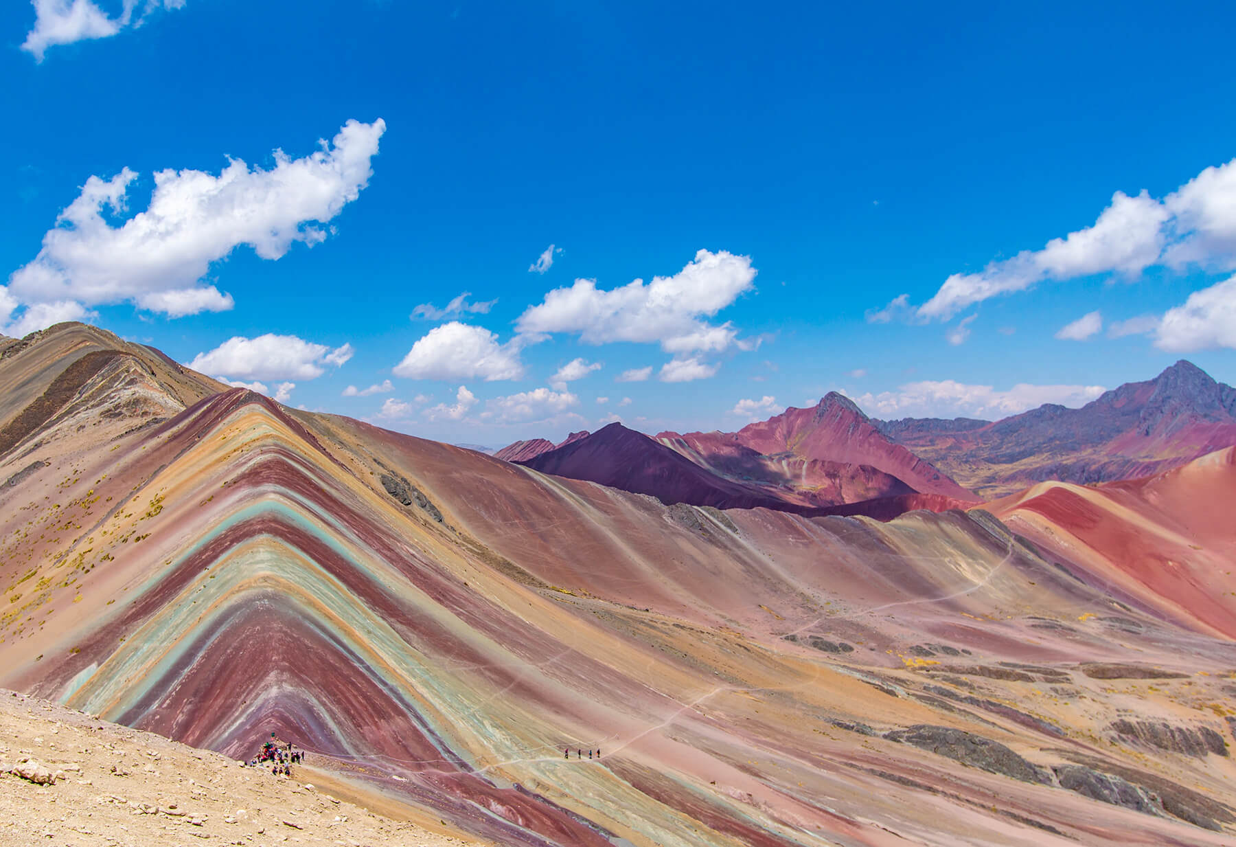 Rainbow Mountain in Peru should be on your bucket list