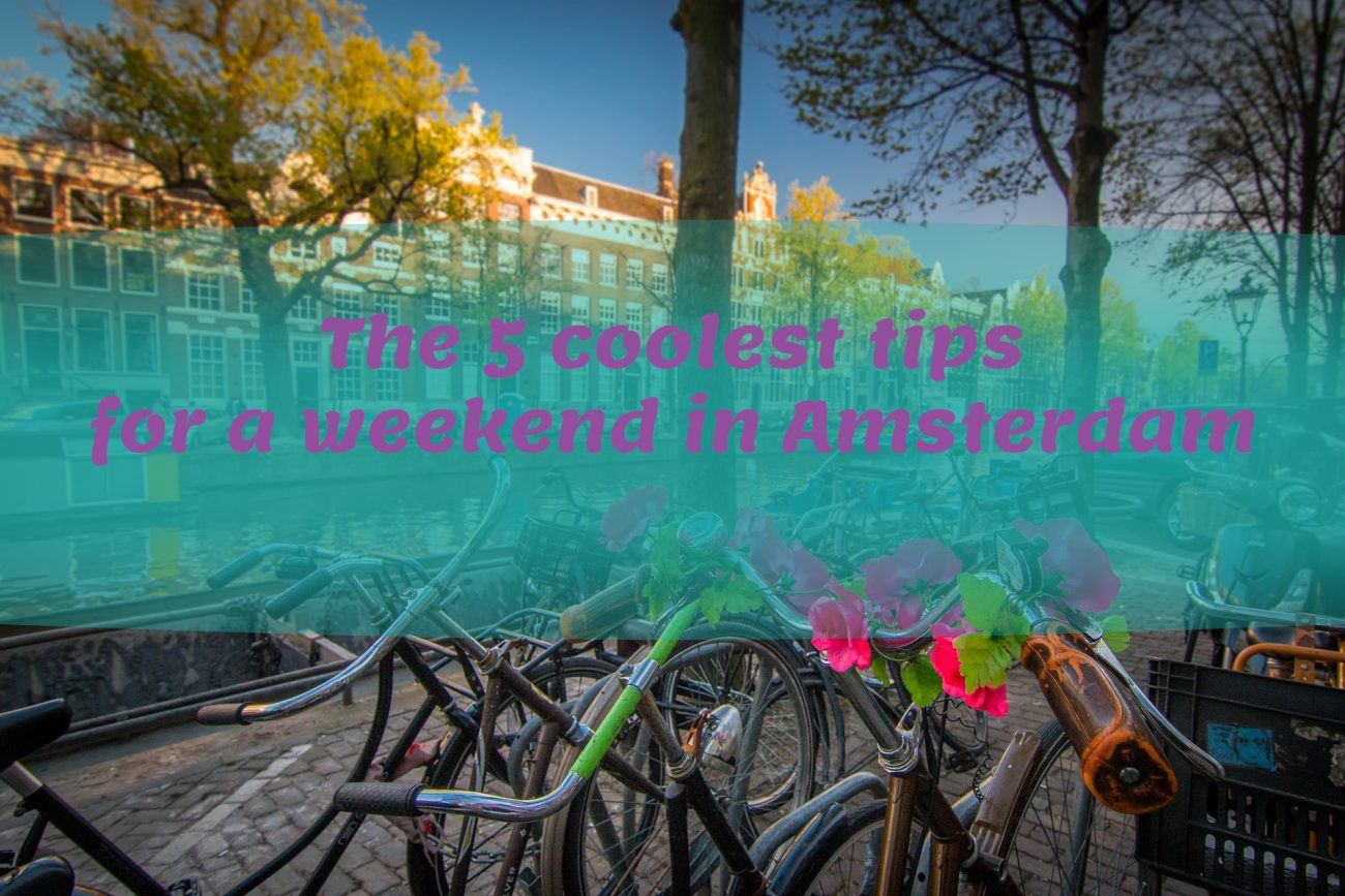 Top 5 best tips for a weekend in Amsterdam