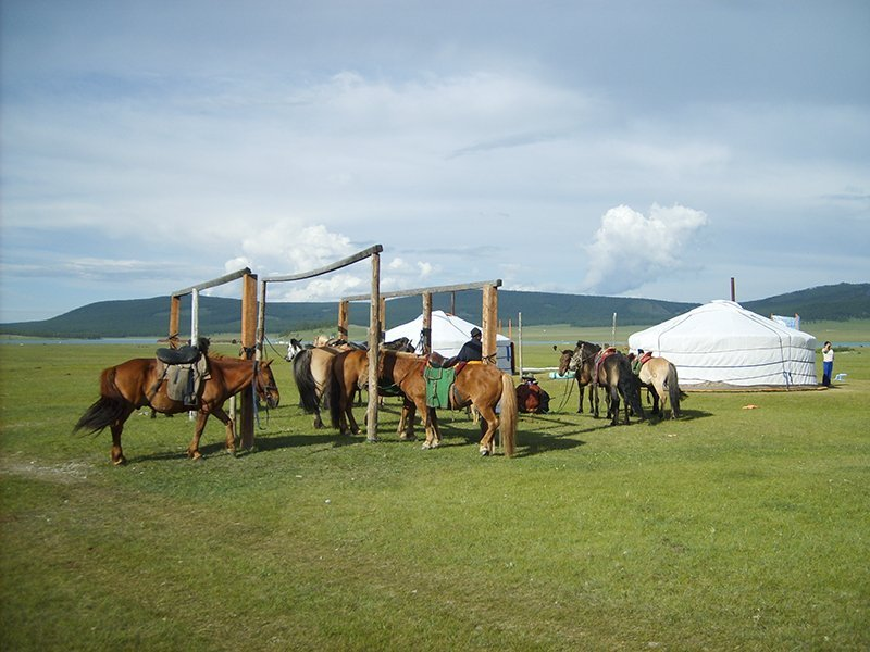 Chengis Khan Oost Mongolie