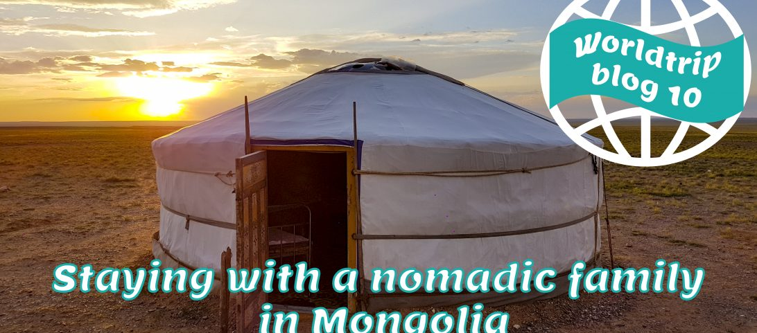Staying with a nomadic family in Mongolia