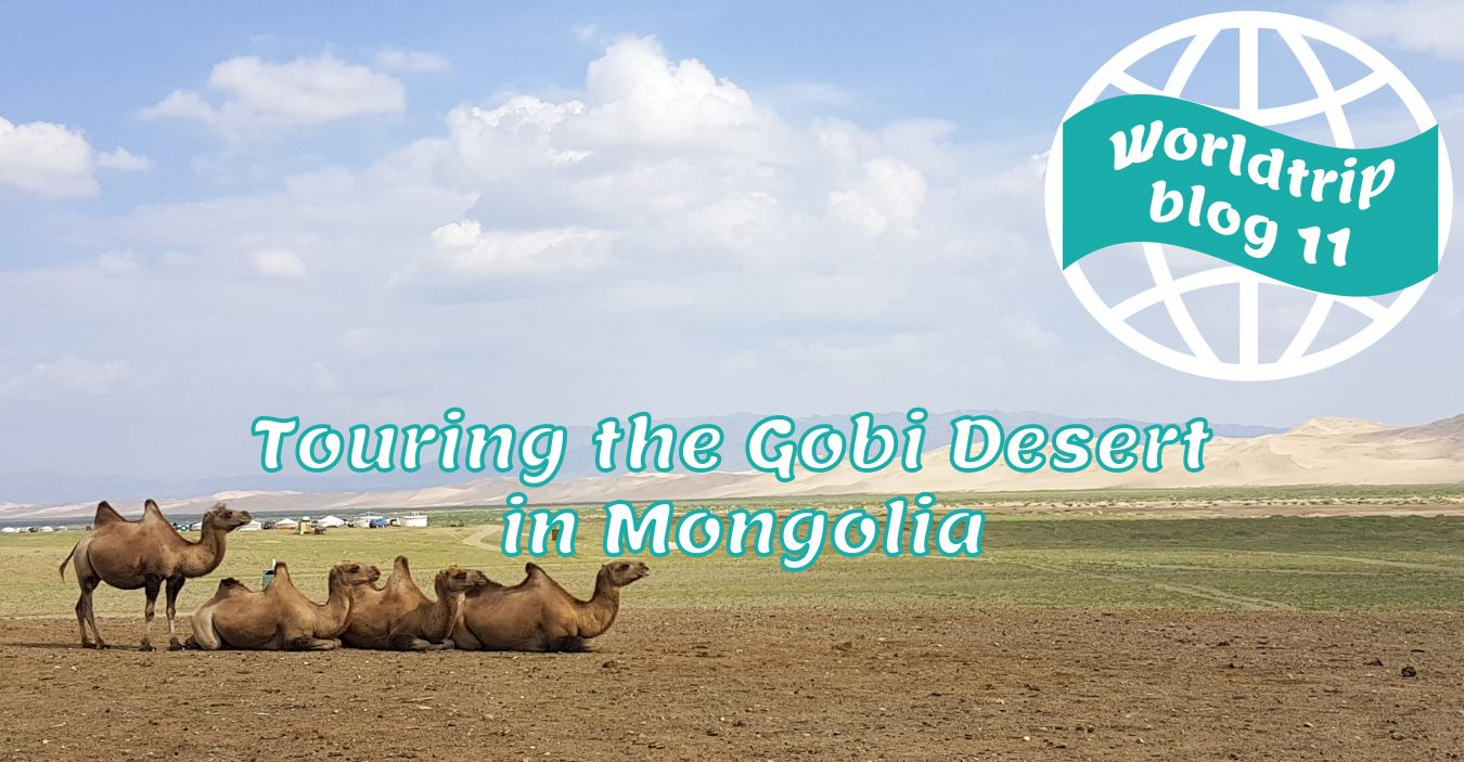 Touring the Gobi Desert in Mongolia