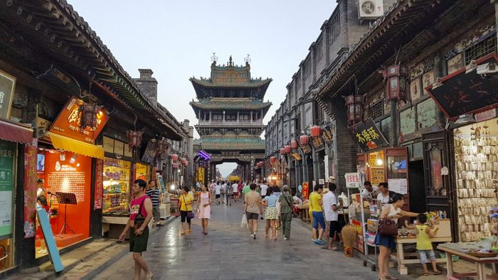 Explore the city tower of Pingyao