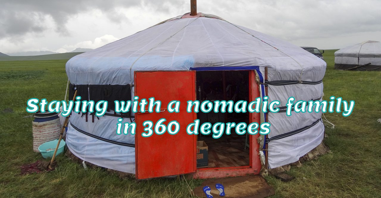 Staying with a nomadic family