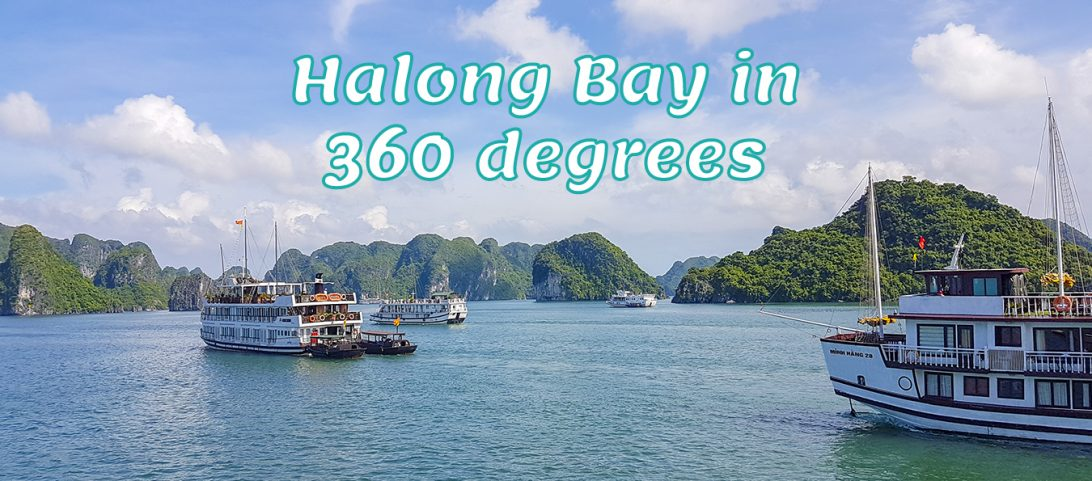 Halong Bay in 360 degrees